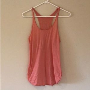 Lululemon peach colored tank